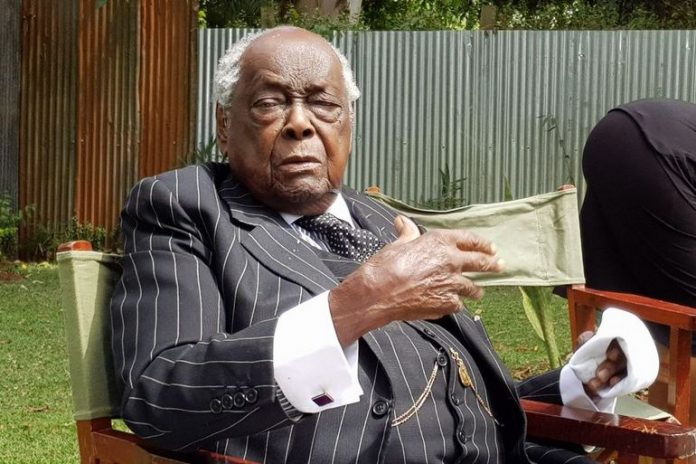 Kenya's first Attorney General Sir Charles Njonjo