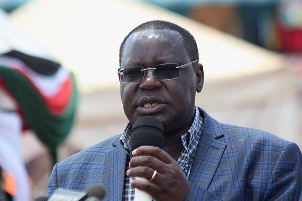 Kiambu County Deputy Governor James Nyoro. His swearing in as County Governor is scheduled for 10 am after his boss was impeached in a senatorial vote.
