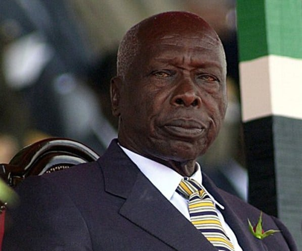 Former President Daniel Arap Moi. He died on February 4, 2020, aged 95