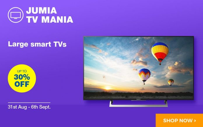 Jumia TV Mania is on now!!