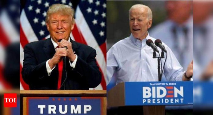 What would happen if Joe Biden and Donald Trump tied in the presidential poll?
